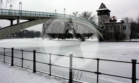 Abteibrücke Winter Berlin 2010