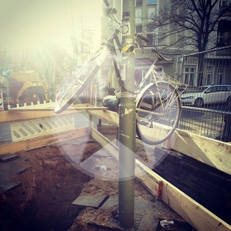 Angeschlossen Fahrrad Berlin 2012