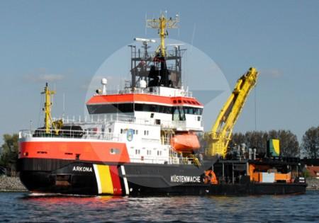 Mehrzweckschiff Arkona, 2008