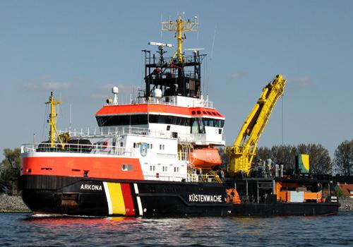Mehrzweckschiff Arkona Küstenwache 2008