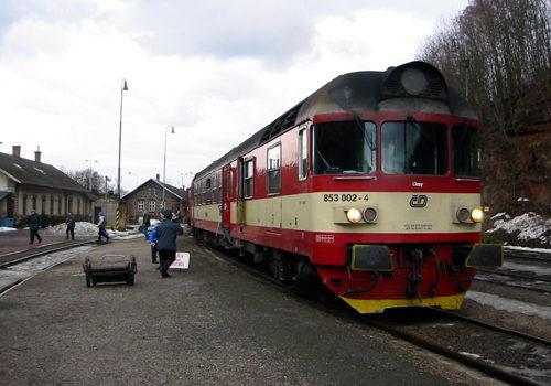 Bahnhof von Stara-Paka, 2004
