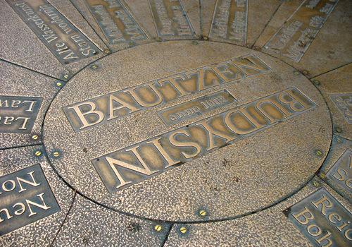 Bautzen-Wegweiser Reichenstraße 2006
