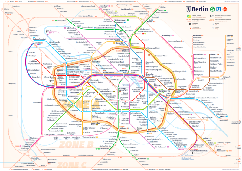 New Berlin Rapid Transit Map, 2018