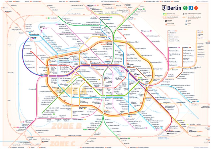 Berlin Transit Map: Neuer Netzplan für U- und S-Bahn - Berlin ... on