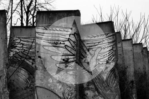 Berliner Mauer Bernauer Straße Mauerreste 2011