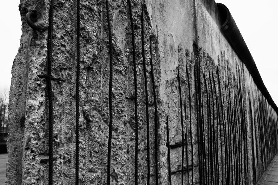 Hinterlandmauer Bernauer Straße Details 2011