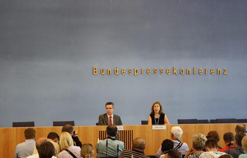 Bundespressekonferenz Berlin 2010