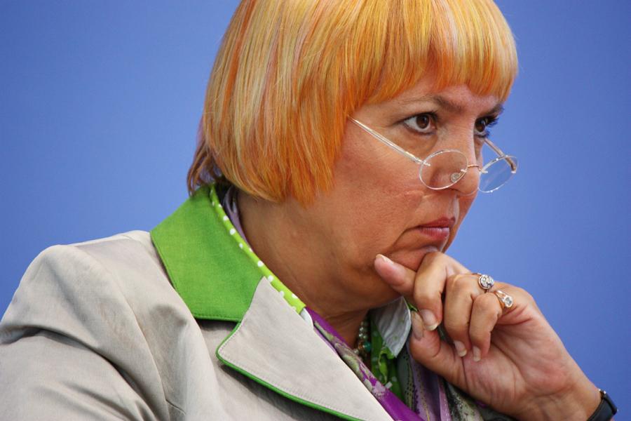 Bundespressekonferenz Claudia Roth 2011