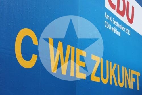 Wahlkampf in MV C wie Zukunft 2011