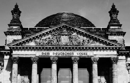 Dem deutschen Volke am Reichstag, Berlin 2009