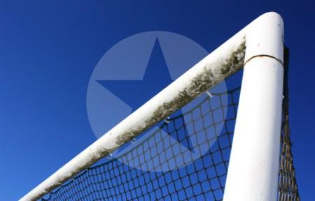 Dreiangel eines Fußballtores, 2010