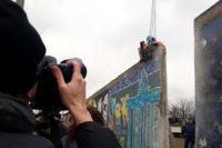 East Side Gallery Abriss Berlin 2013