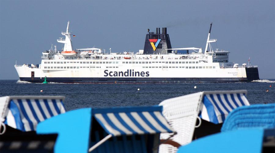 Fährschiff Prins Joachim Rostock Gedser Dänemark Fähre 2011