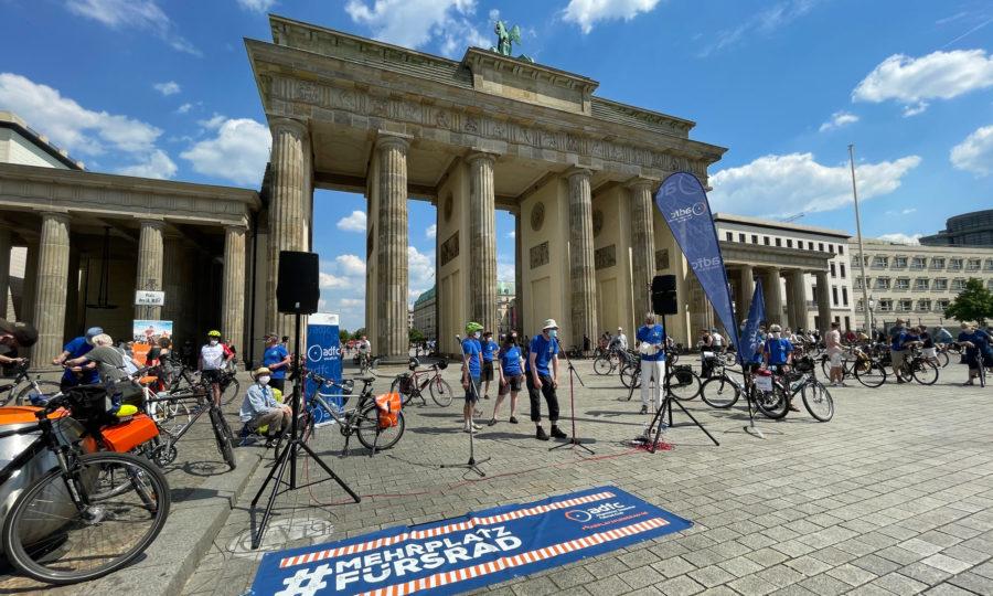 Sternfahrt in Berlin