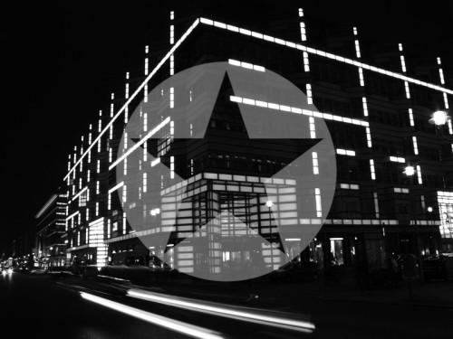 Festival of Lights Berlin Friedrichstraße 2009