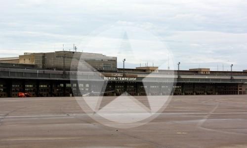 Flughafen Berlin Tempelhof Passagierhalle 2010