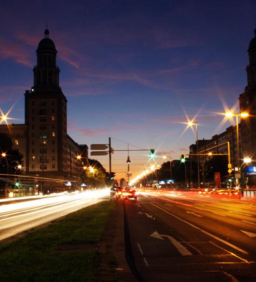 Frankfurter Tor of Lights Berlin 2011