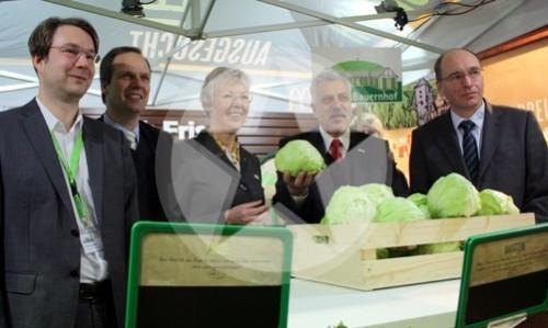 Landwirtschaftsministerin Dr. Juliane Rumpf Grüne Woche 2011