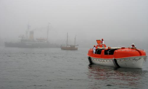 Eisbrecher STETTIN im Nebel, 2007