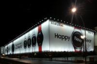Plakatwerbung: Happy New Gear in Berlin-Friedrichshain