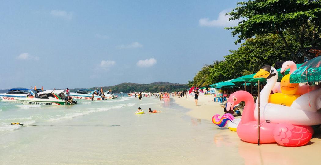 Strand auf Koh Samet