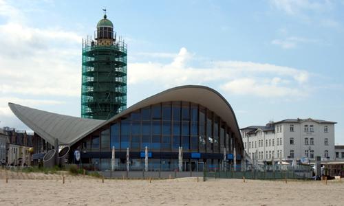 Leuchtturm Warnemünde Renovierung Hülle 2007