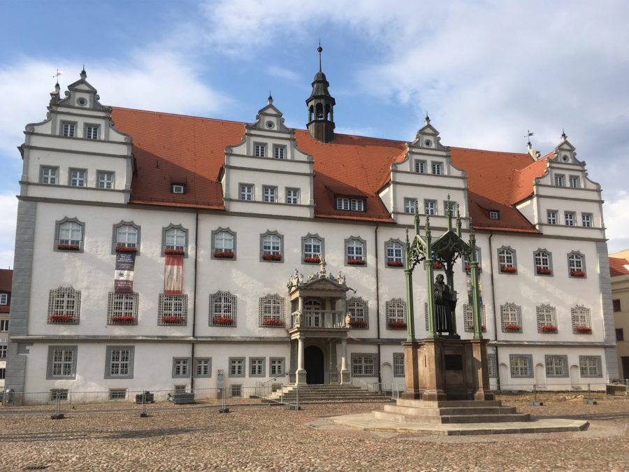 Altes Rathaus in Wittenberg