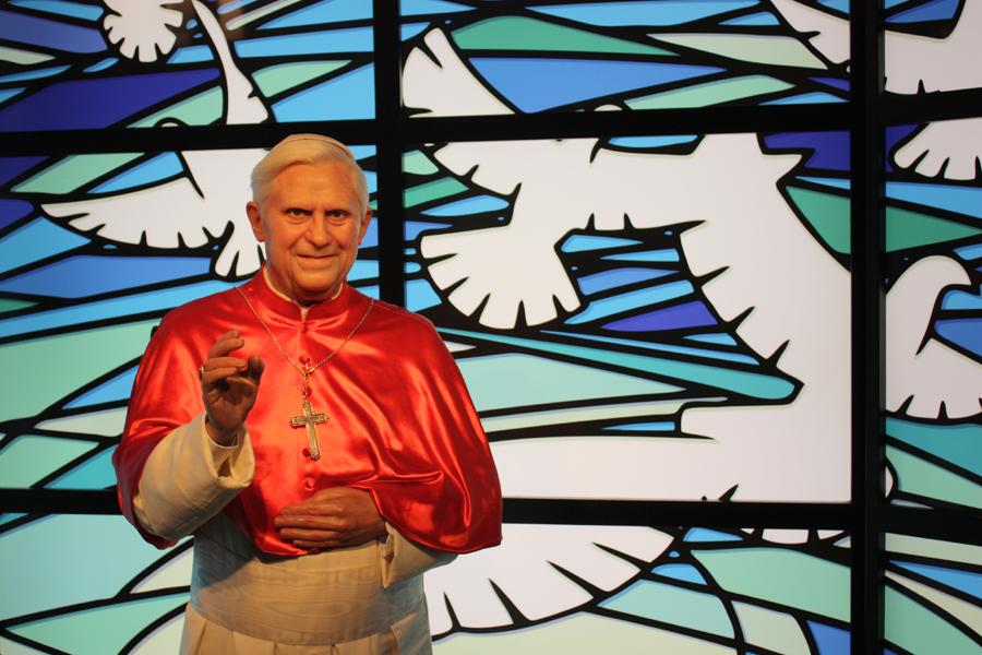 Papst Benedikt bei Madame Tussauds Berlin, 2011