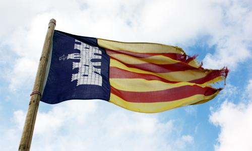 Mallorca Flagge 2010