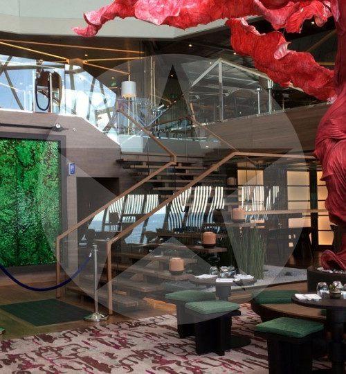 Restaurant Hanami by Tim Raue auf der Mein Schiff 5