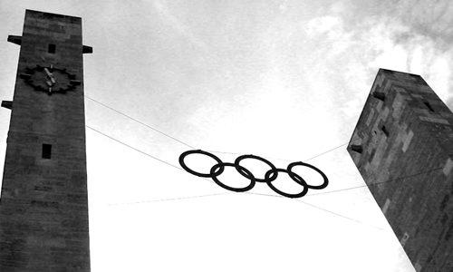 Olympiastadion Berlin Osttor 2003