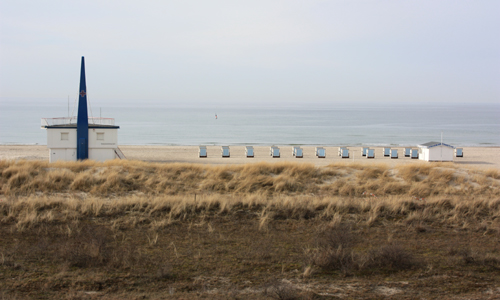 Ostsee Strand Idylle Warnemünde 2010
