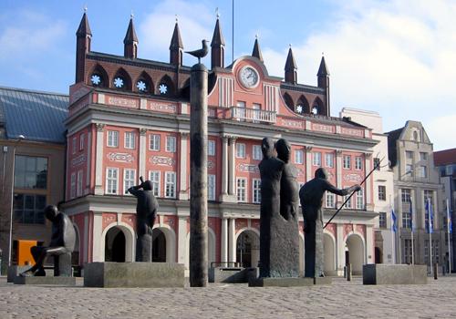 Rathaus Rostock 2004