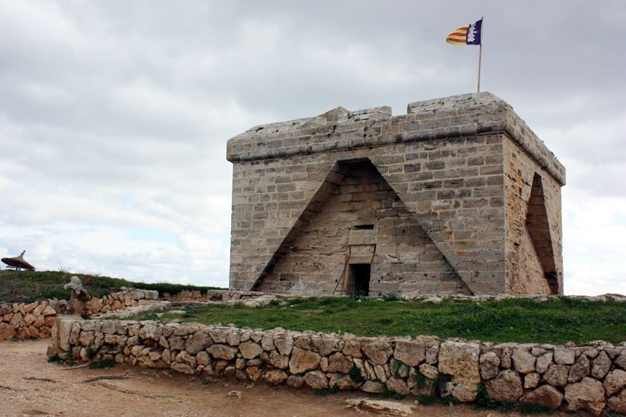Castell de sa Punta de n'Amer Mallorca 2010