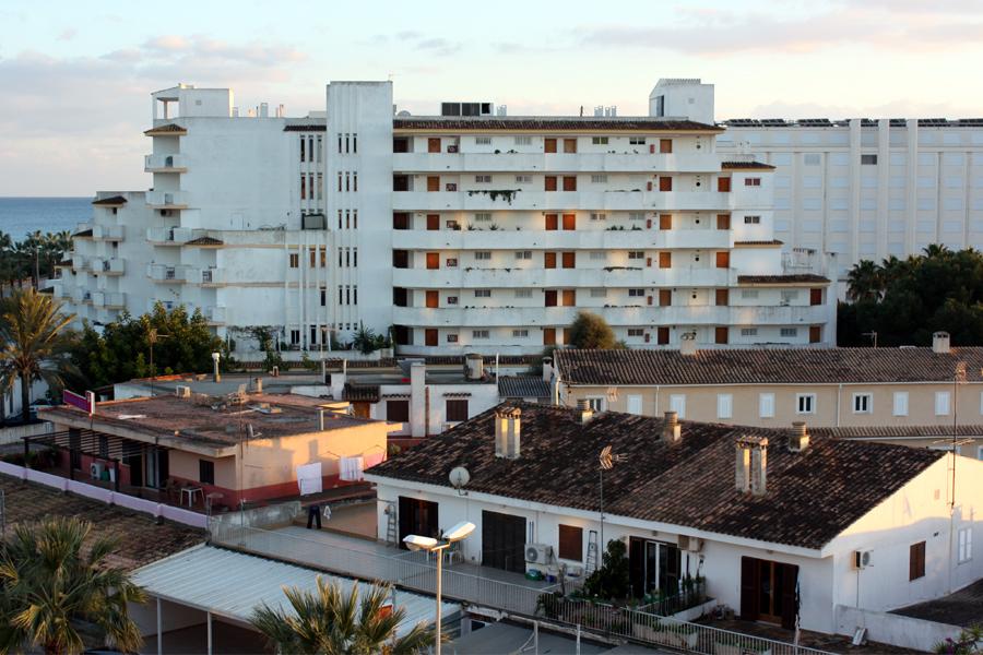Sa Coma Mallorca Hotelburg Meer 2010