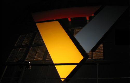 Scandlines am Schornstein, 2008