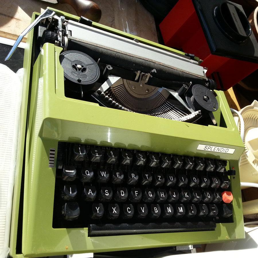 Schreibmaschine Splendid
