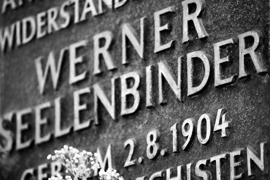 Gedenktafel Werner Seelenbinder Galtzer Straße Berlin-Friedrichshain 2011