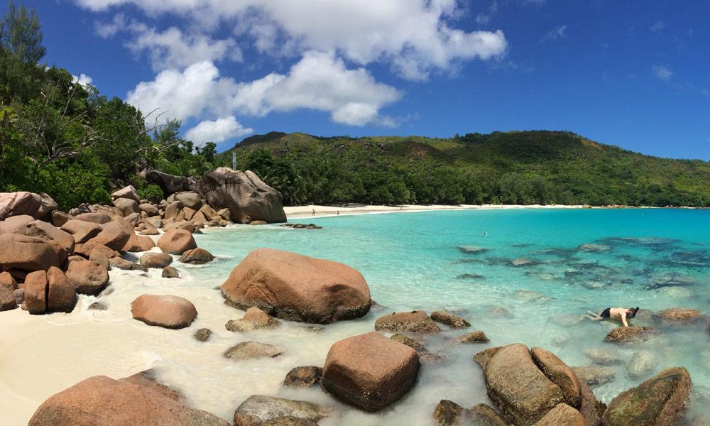 Anse Lazio auf Praslin, Seychellen