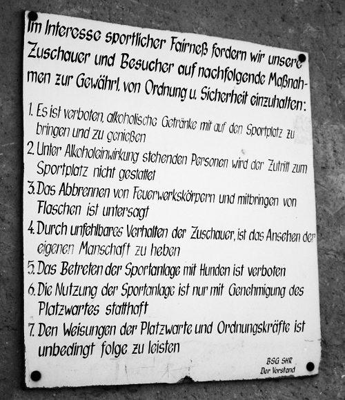 Sportplatz SV Hafen Rostock Lichtenhagen 2004