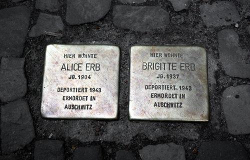 Alice Brigitte Erb Stolperstein Berlin 2010