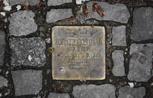 Stolperstein Ignatz Rosthal Berlin 2010