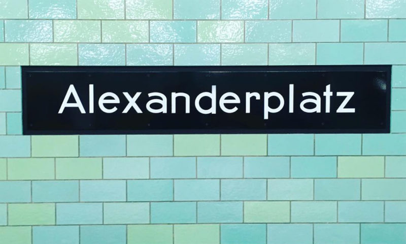 U-Bahnhof Alexanderplatz, Berlin