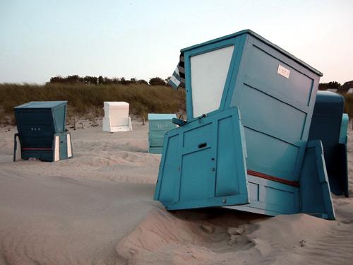 Warnemünder Strandkorb