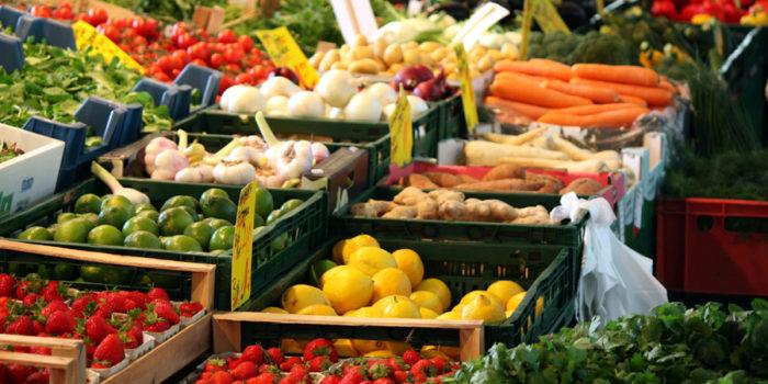 Wochenmarkt Boxhagener Platz Gemüse 2011