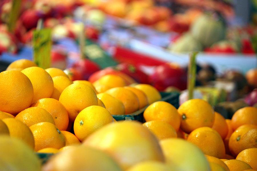 Wochenmarkt Boxhagener Platz Obst 2011